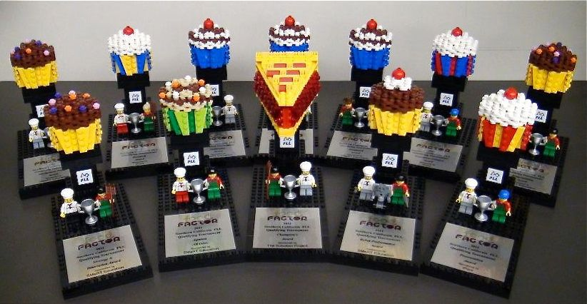 The sweetest trophies EVER ! – Official FIRST LEGO League Jr ...