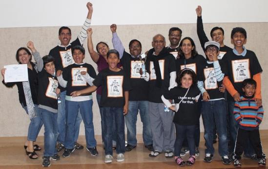 FLL-2012-Team-with-OverallChampionshipAward
