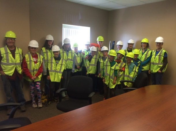 Field Trip to Recyling Center- Next Gen invited 3 other teams to attend